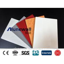 panel compuesto de aluminio de 5 mm de tamaño hoja / panel compuesto de aluminio exterior de panel acp