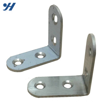 Electro Galvanized Construction Perforated Metal Corner Brackets For Wood