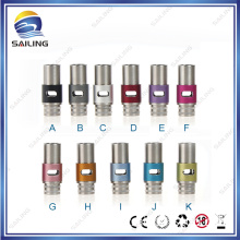 E Cigarette Wide Bore Air Flow Control Ss Aluminum Drip Tip
