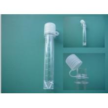 Tube de test homologué CE 8cc avec tasse