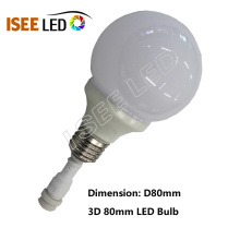 DMX LED Colorful Mini Strobe Bulb Light DC12V