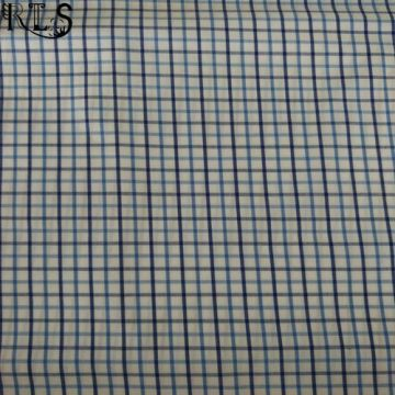 Хлопок поплин сплетенные нити, окрашенные ткани для одежды рубашки/платье Rls50-24po