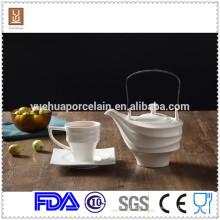 Venta al por mayor de la porcelana del sistema de té