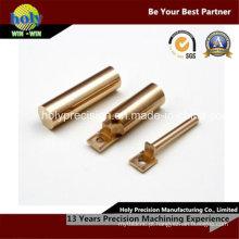 Bucha do bronze da peça de automóvel do CNC que faz à máquina