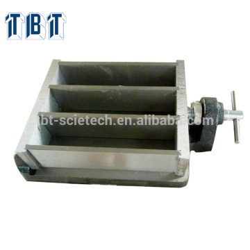 40*40*160 Steel Three Gang Mould for Prism