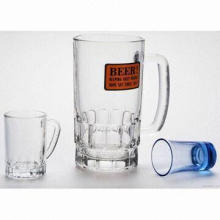 Party Beer Glasses, Cheap Price and Good Quality, Customized Logos Available