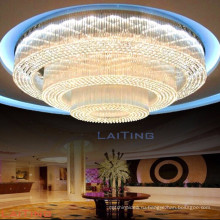 Большой отель роскошный Банкетный зал потолка люстра свет