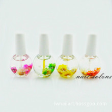 15ml Nail Cuticle Oil with Flower Nail Treatment Oil Nail Care Nail Beauty