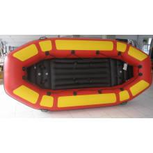 Crianças criança brinquedo PVC, barco inflável com Airpillow de Rafting