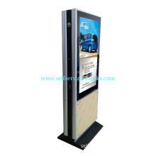 """Double Sided 42"""" Infrared Touch Screen Digital Signage Kiosk, Shopping Mall Advertising"""