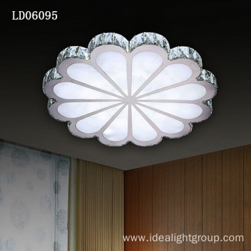 modern fancy chandelier lamp steel ceiling led light