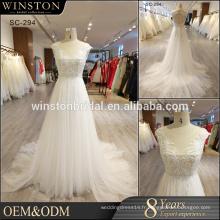 High-end en Chine usine directe vente en gros robe de mariage de luxe