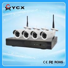 2016 neueste 4CH 1.3MP drahtloser 100m IP Installationssatz, 960P WIFI Installationssatzhersteller mit CER FCC ROHS Cetification