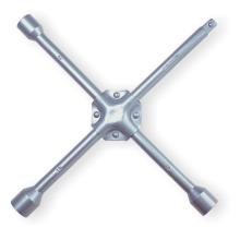 Cross Rim Schraubenschlüssel Silberpulver beschichtet