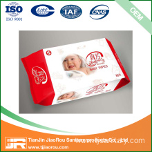 China for Organic Baby Wet Wipe OEM Chamomile Baby Wet Wipes export to Norfolk Island Wholesale