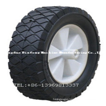 Rubbish Cart Solid Rubber Wheel
