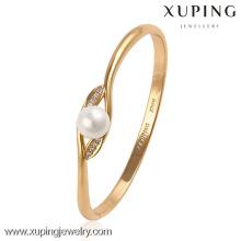 Pulsera y pulseras baratas al por mayor de la moda de Xuping con oro 18k plateado