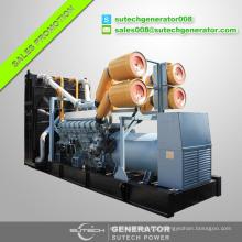 China fornecedor 800 kva Mitsubishi motor gerador diesel de energia elétrica