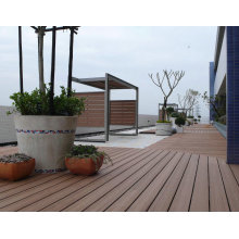 Revestimento composto impermeável Recyclable de WPC, placa do decking de WPC