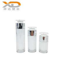 15ml 30ml 50ml Luxury straight round cosmetic acrylic container packaging airless bottle for skin care