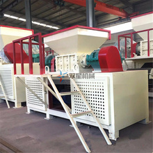 Aluminium scrap recycling equipment shredding machine