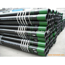 JIS STB42 G3461 carbon steel pipe hot-rolled with painting and caps building material