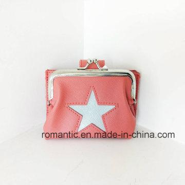 Saco de moletom de couro para senhora Lady Card Wallet Card (NMDK-040802)