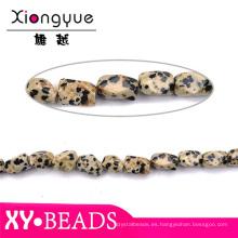 Granos de piedra preciosa de ágata africana suelto bolas talladas para anillo