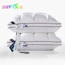 Linge d'hôtel / Pas cher en gros vente chaude textile 5 étoiles hôtel 100% coton oreillers hôtel dormir coton remplissage oreiller