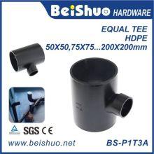 Hochleistungs-PPR-Rohrverschraubung gleiches T-Stück