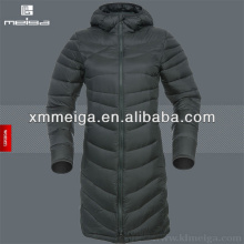 Ladies Long Down Feather Jacket