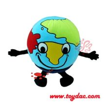 Plush cartoon earth toy