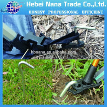 China supplier galvanized steel tent pegs for Camping equipment