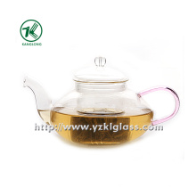 Clear Single Wall Glass Teapot by SGS, BV (550ML)