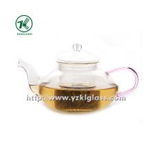Clear Single Wall Glass Teapot de SGS, BV (550ML)
