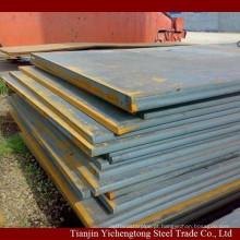 Preço de custo!!! Placa de aço NM400 de primeira qualidade à prova de desgaste laminada a alta temperatura / chapa de aço