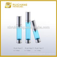 15ml / 20ml / 30ml bouteille cosmétique sans air, bouteille de pompe sans air, bouteille cosmétique sans air