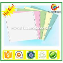 Papier sans carbone bleu Papier NCR