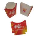 Boîte à papier pour frites de pommes de terre