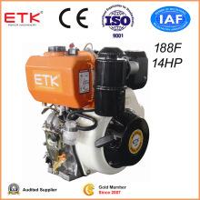 Air Cooled Single Cylinder Camshaft Output Portable Diesel Engine
