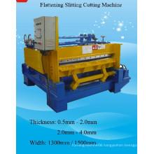 Flattening Slitting Cutting Machine Roll Forming Machine