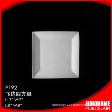 Eurohome manufactures new product porcelain white square dish