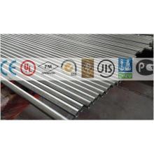 Linepipe de acero galvanizado para puerta