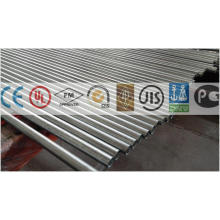 Tuyau en acier pré-galvanisé pour porte