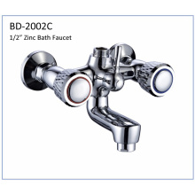Bd2002c Zinc Double Knobs Bathtub Faucet