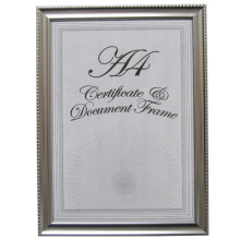 Unique Design Silver Certificate Frame
