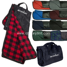 Polar fleece Picnic Blanket with Handle