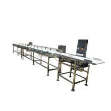 High Accuracy Automatic Weight Sorting Machine/Fruit Fish Weight Sorting Machine