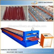Fournisseur de machines à former le rouleau en tôle d'ibr