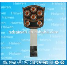 Interruptor de membrana de pantalla táctil de alta calidad